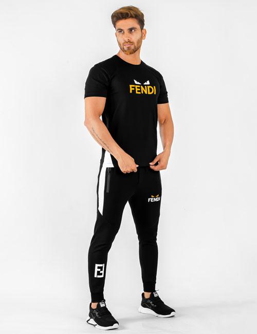 ست تیشرت و شلوار مردانه Fendi مدل 14283