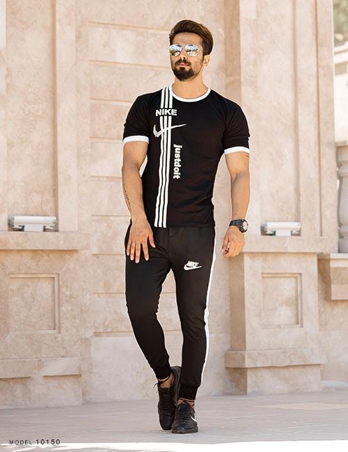 ست تیشرت و شلوار مردانه Nike مدل 10150