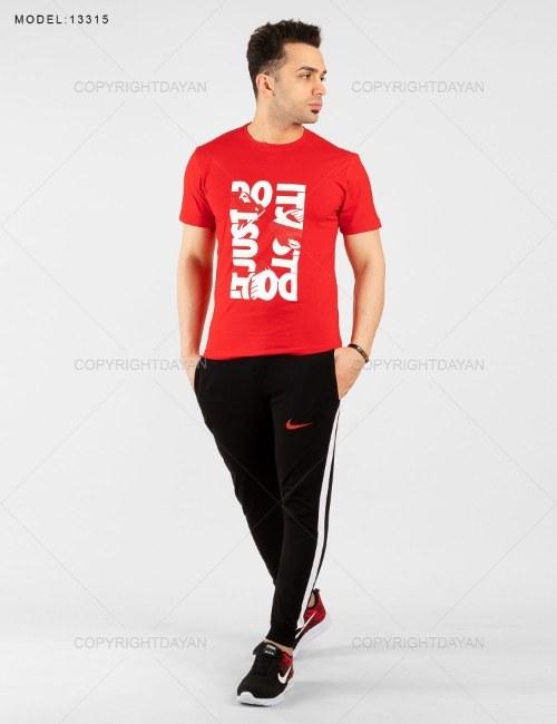 ست تیشرت و شلوار مردانه Nike مدل 13315