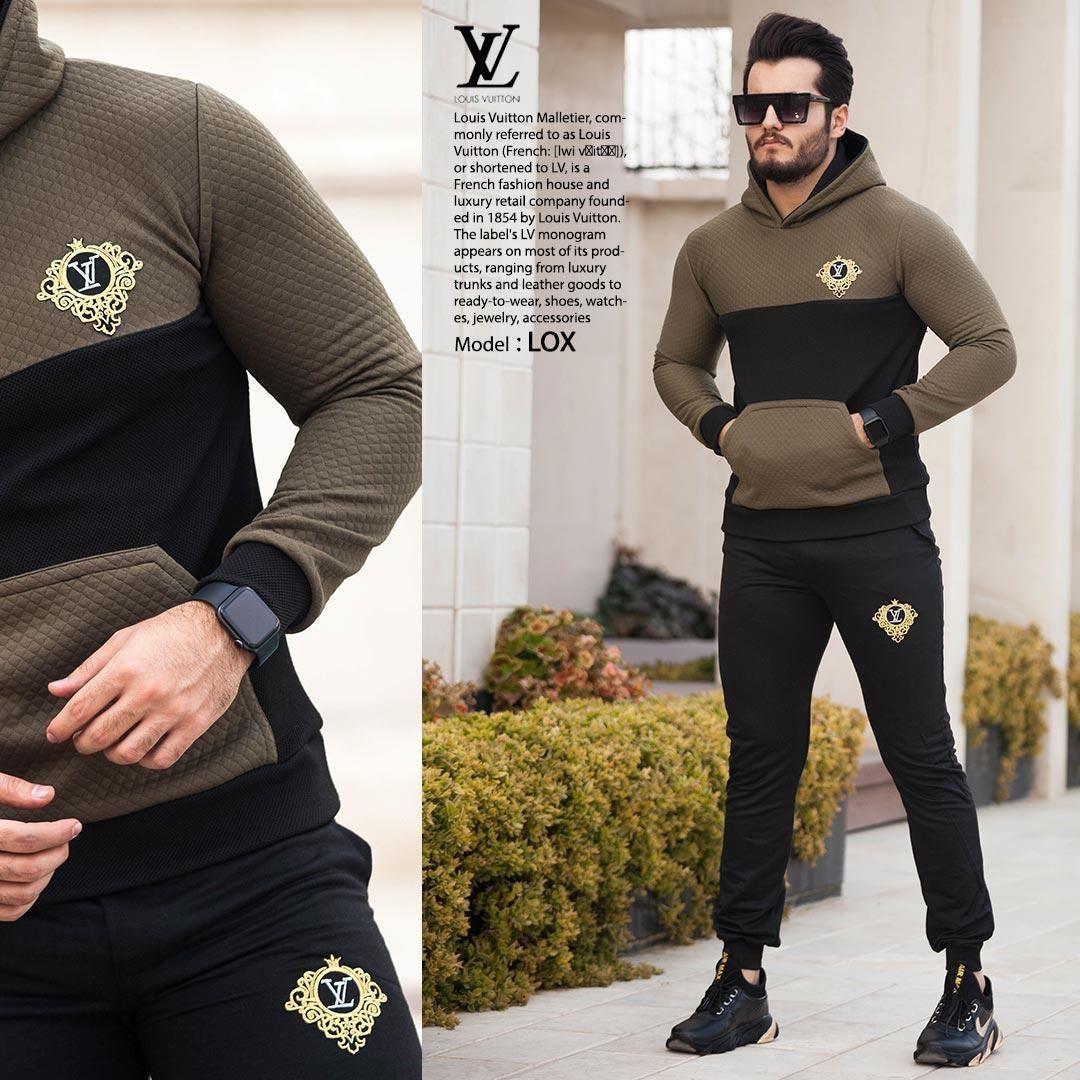 ست سویشرت وشلوار Louis Vuitton مدل LOX